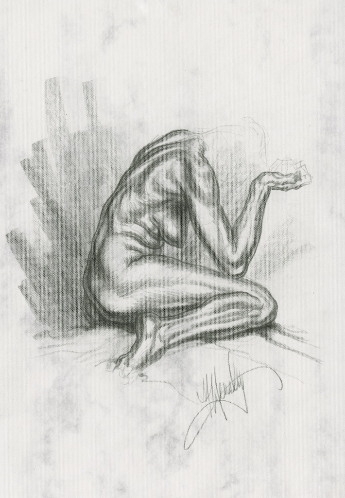 Michael Hensley Artistic Anatomy Life Drawing The Female Figure